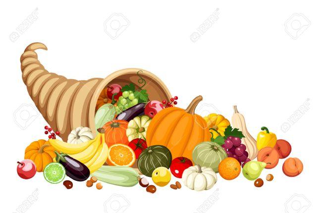 23558892-Automne-corne-d-abondance-corne-d-abondance-de-fruits-et-de-l-gumes-Vecteur-Banque-d'images